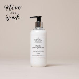 Sevenoaks Candle Co. Black Pomegranate Hand Cream